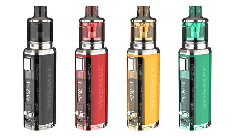 kit wismec box sinuous v80 - Wismec Box SINUOUS V80 Amor NSE Kit -