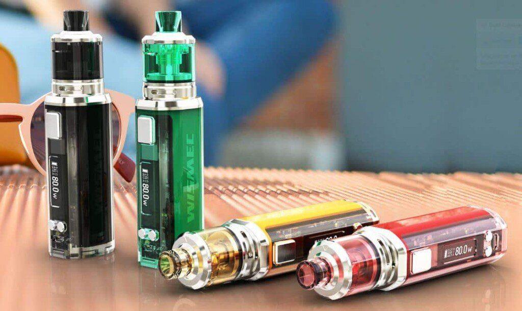 wismec box sinuous v80 kit 1024x611 - Wismec Box SINUOUS V80 Amor NSE Kit -